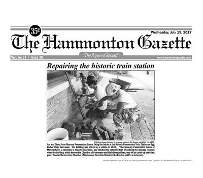 MPGNJ featured in The Hammonton Gazette article on July 19, 2017